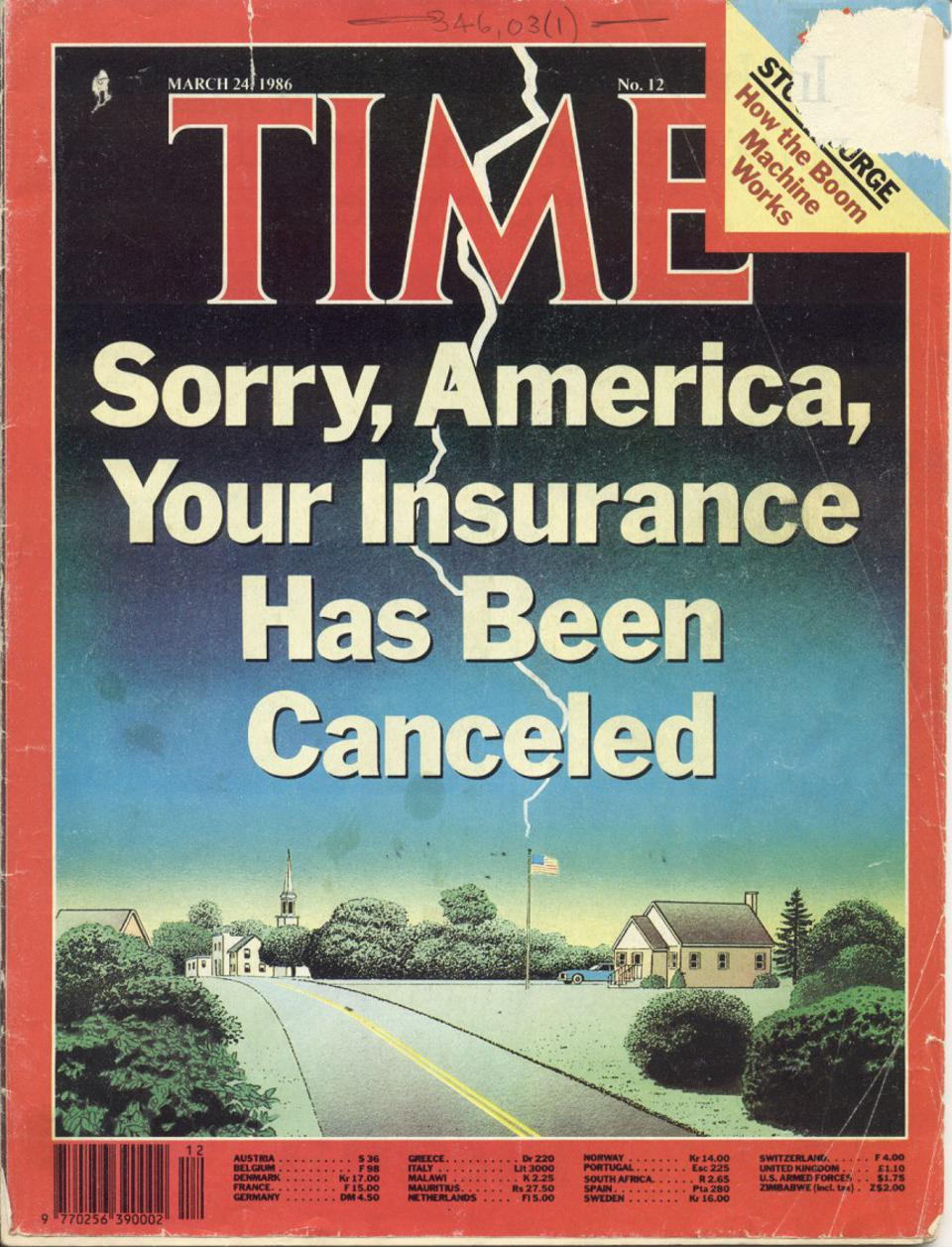 Time Magazine Cover, March 23, 1986