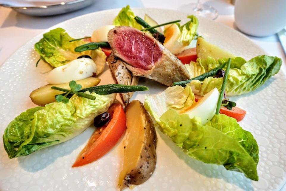 Nicoise Salad at The Haven restaurant