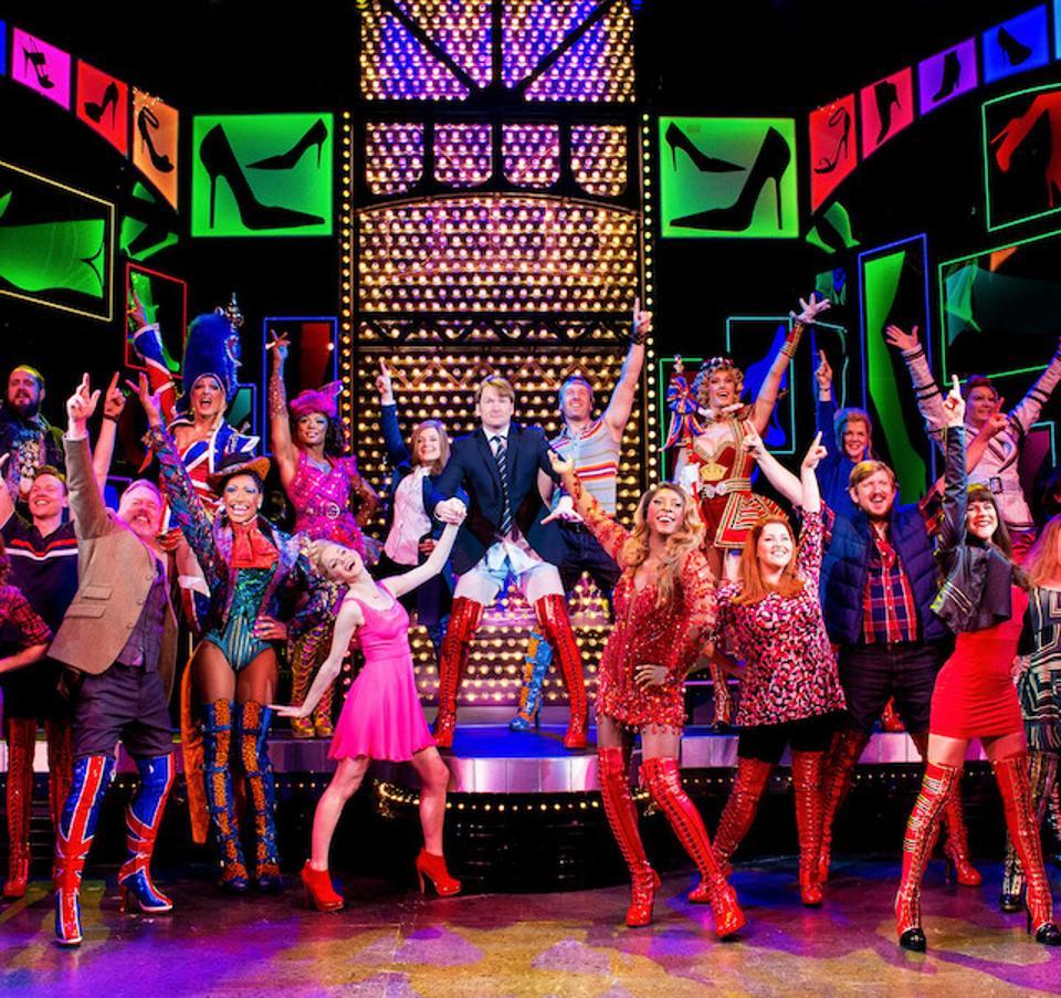 Cast of Kinky Boots on Norwegian Encore