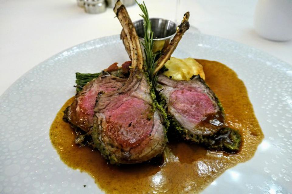 Rack of Lamb at The Haven
