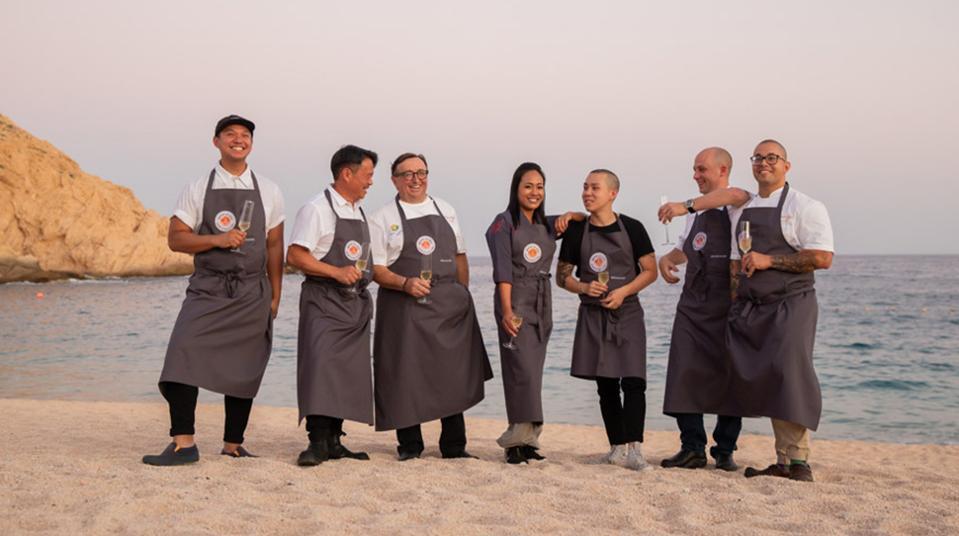 Chefs at Montage Los Cabos