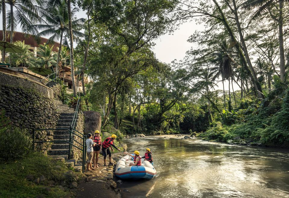 Private Rafting is a must if you visit the Four Seasons Sayan