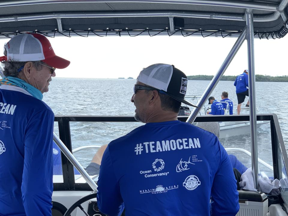 team ocean cleanup conservancy