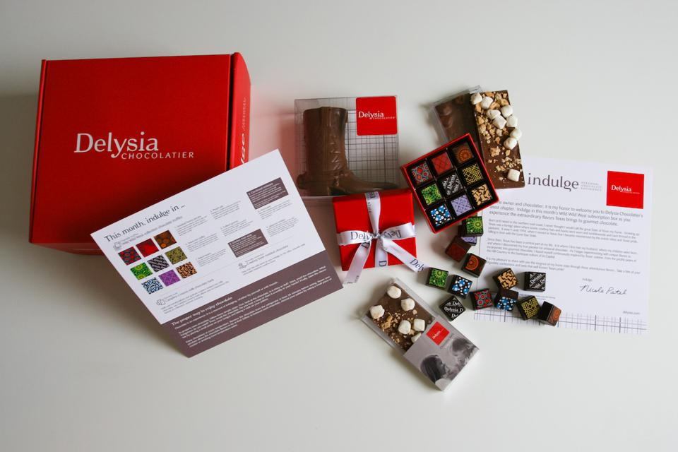 Delysia's INDULGE Personal Chocolate Tasting