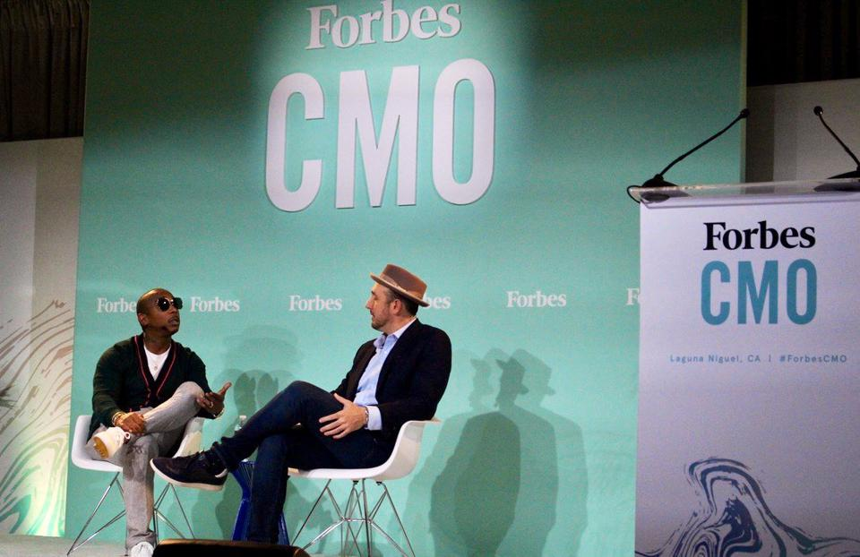 Ja Rule talks with Forbes Chief Content Officer Randall Lane at the annual Forbes CMO Summit this week.