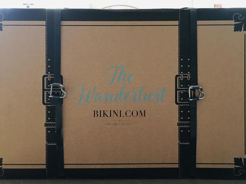 The Wanderlust by BIKINI.COM box.