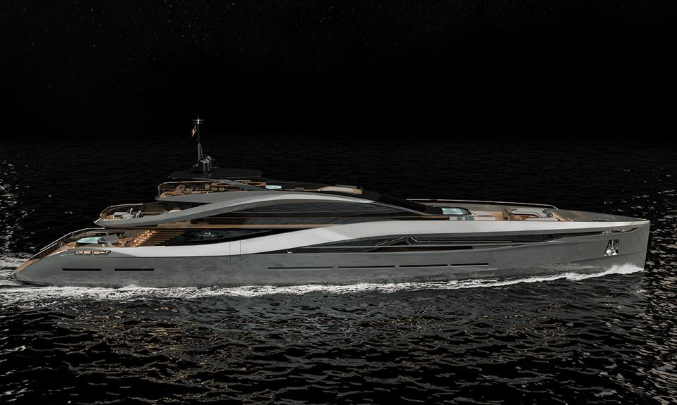 The Rossinavi SuperSport 65 by Pininfarina has super car good looks.
