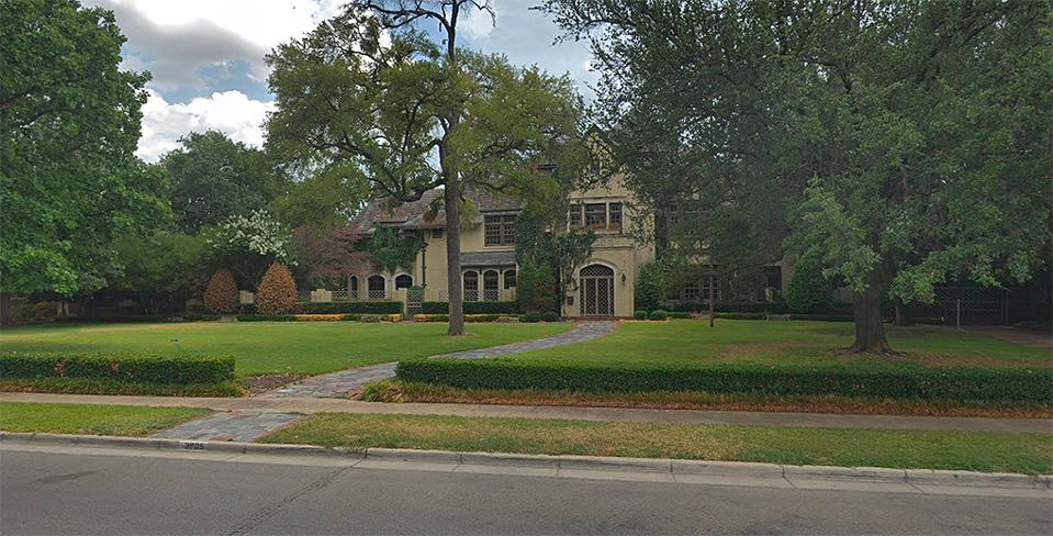 House-3905-Beverly-Drive-Dallas-Google-Earth