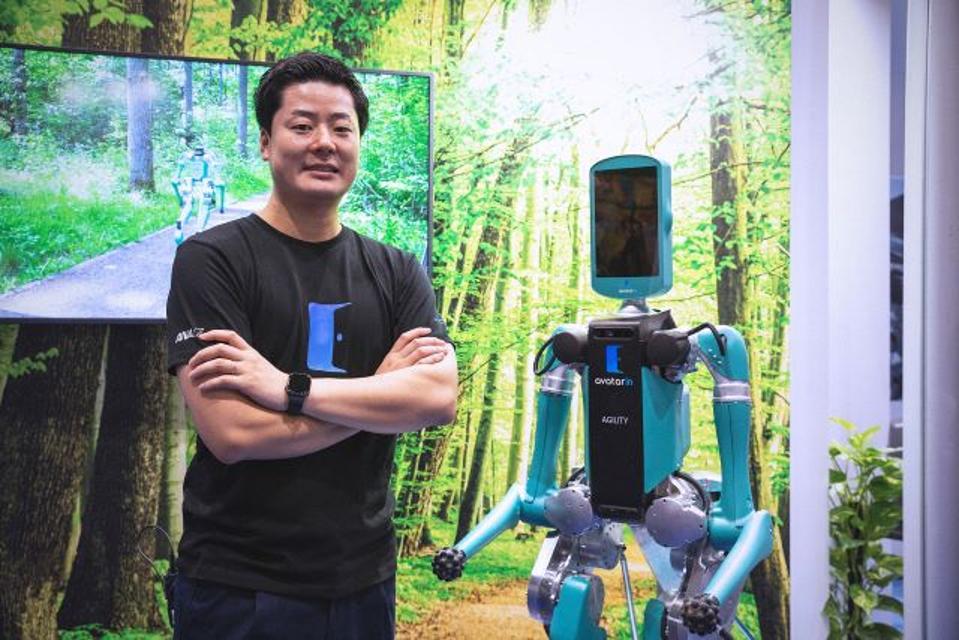 Akira Fukabori, director of ANA HOLDINGS INC.'s Avatar Division