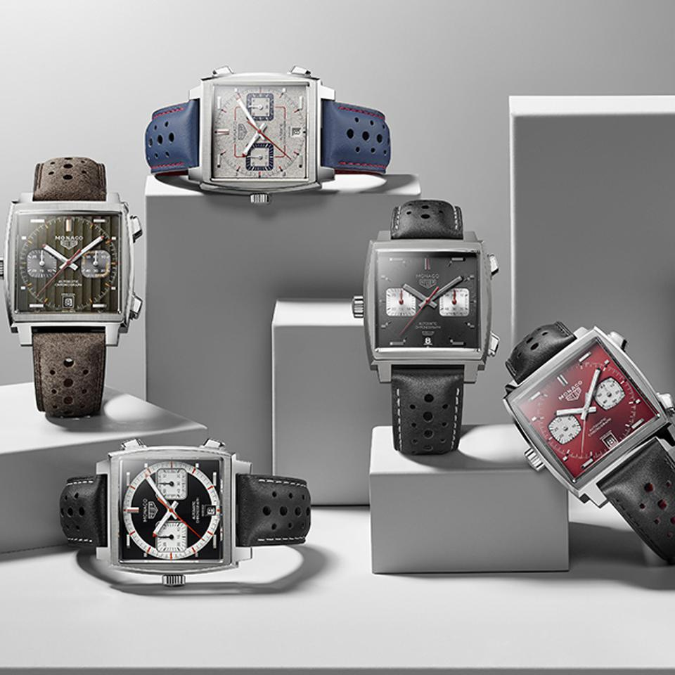 TAG Heuer Limited Edition Monacos.