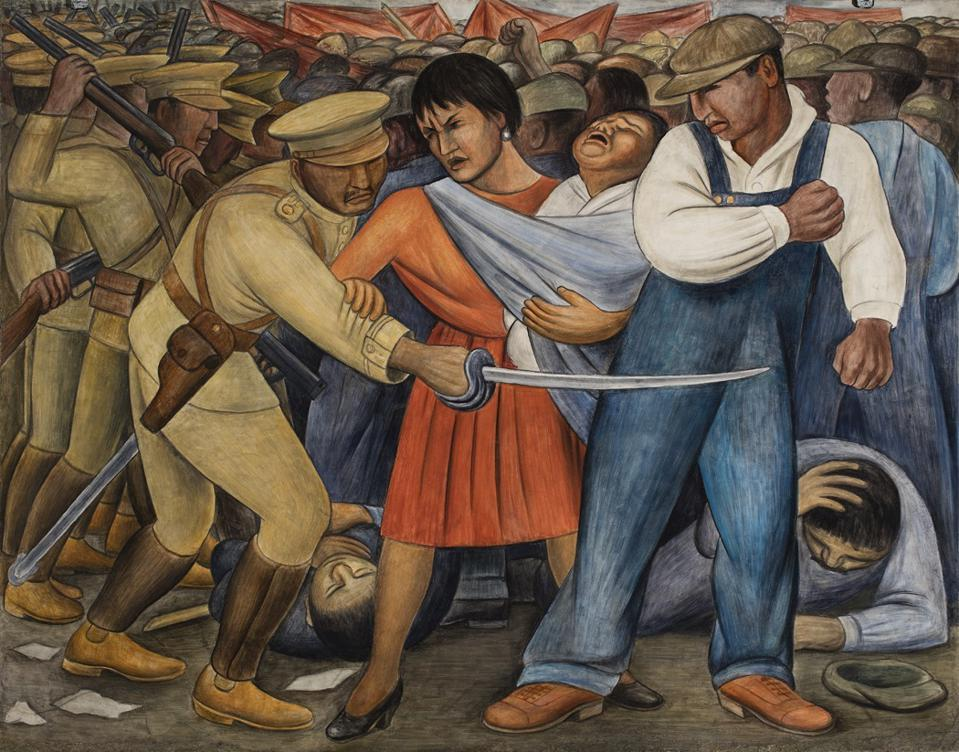 Whitney Museum Rewrites Art History To Reveal Deep Influence Of Mexican Muralists On American Artists