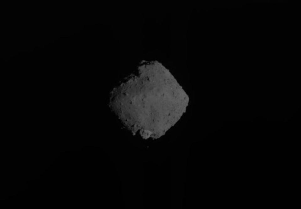 Japanese Spacecraft Captures Final-Ever Images Of Asteroid Ryugu As It Begins Its Journey Home