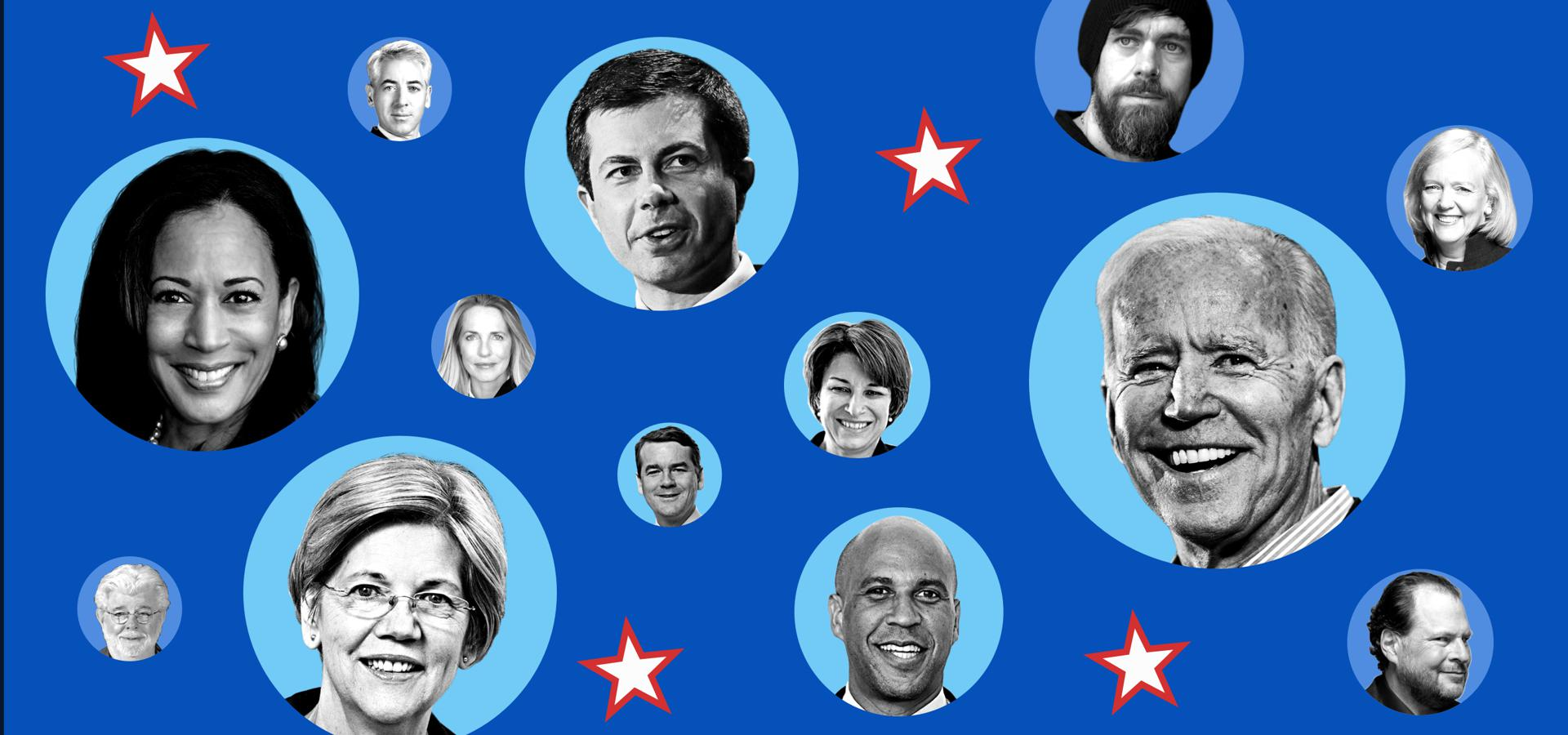 Here Are The Billionaires Funding The Democratic Presidential Candidates
