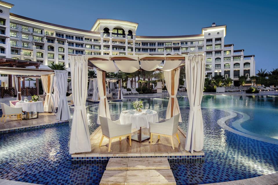 Waldorf Astoria Palm Avenue Pool Cabana  Dubai