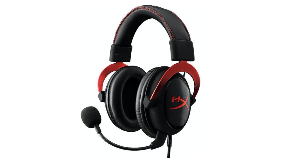 Black HyperX Gaming Headset