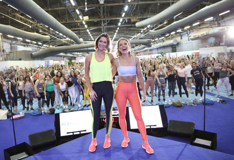 Co-Founders of Tone It Up, at PopSugar Play/Ground 2019, Getty Images