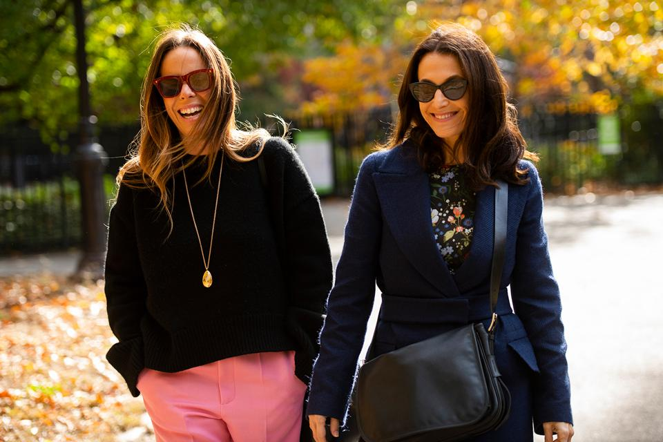 Candice Ophir (left) and designer Oriana Sabrier, co-founders and co-directors of Geneva-based Margaret Jewels.