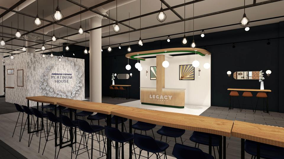 American Express Platinum House New York City Pop Up Over Small Business Saturday