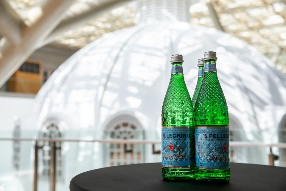 S.Pellegrino 120th Year Anniversary Limited Edition Bottles
