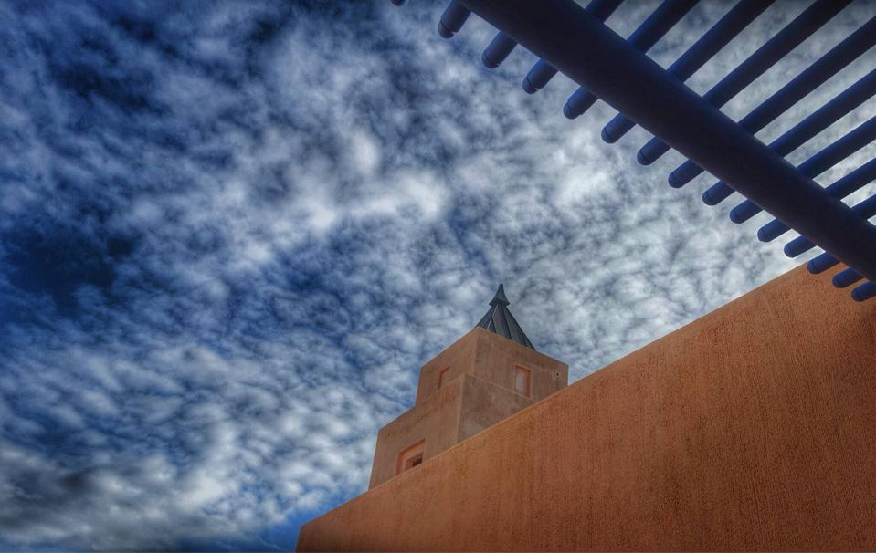 The riad-style architecture of SALT of Palmar