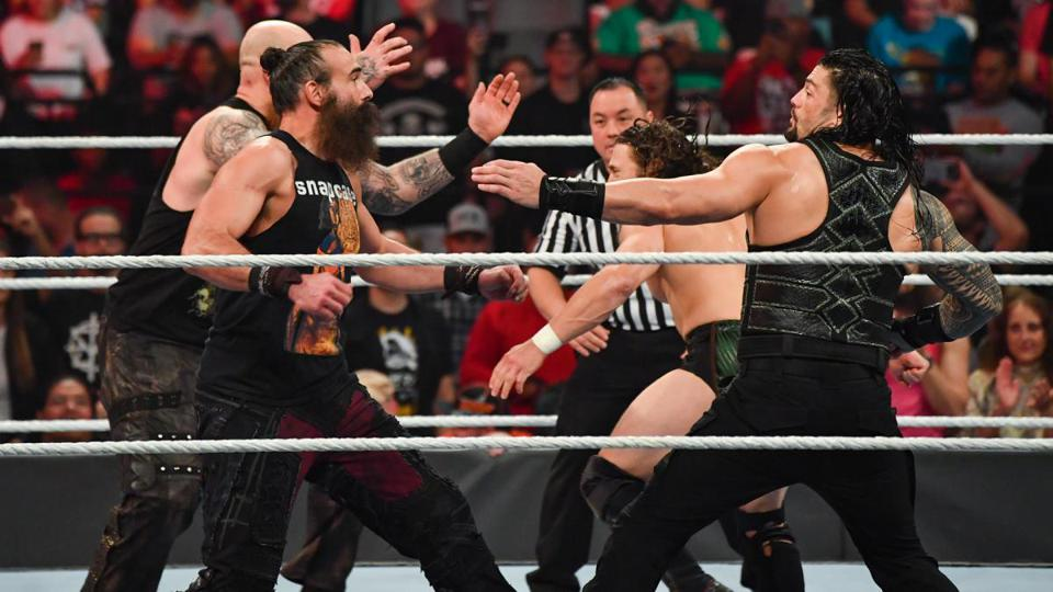 WWE: Roman Reigns and Daniel Bryan vs. Luke Harper and Erick Rowan