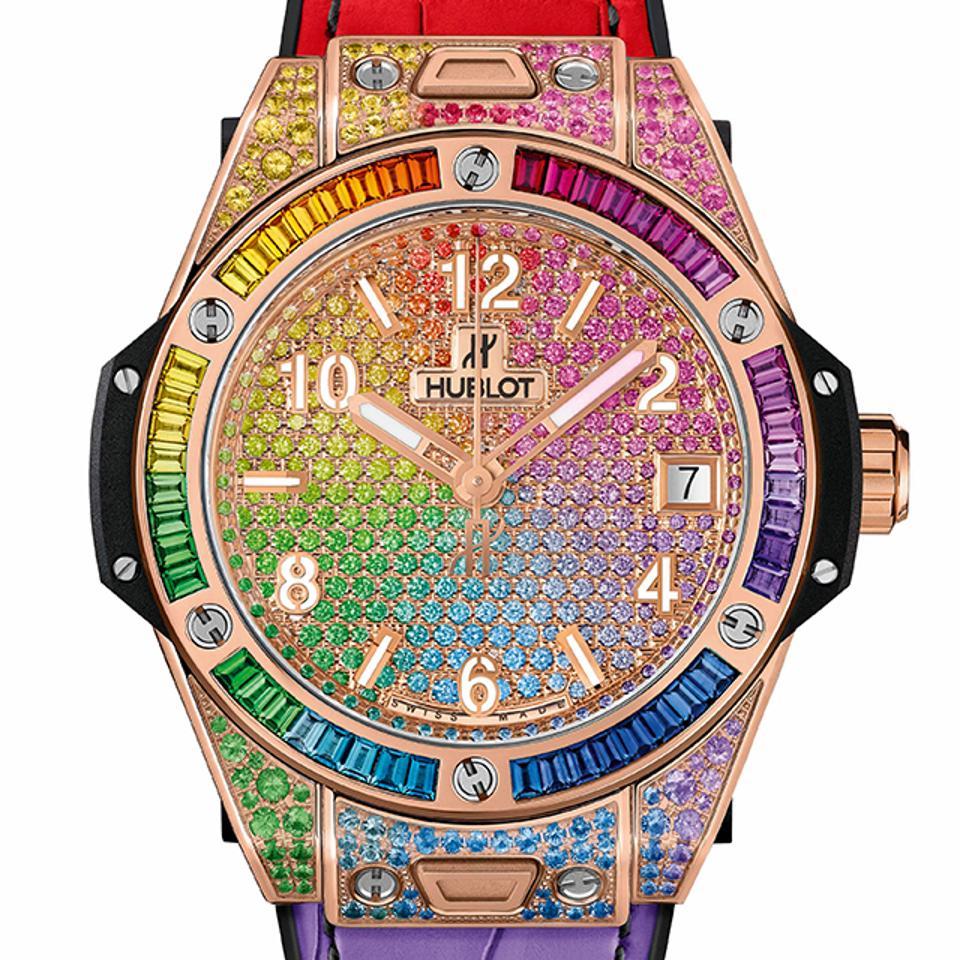 The Hublot Big Bang One Click Rainbow.