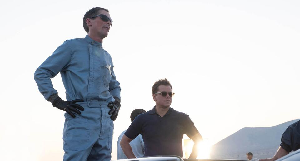 Duet Epic Dari Duo Christian Bale dan Matt Damon