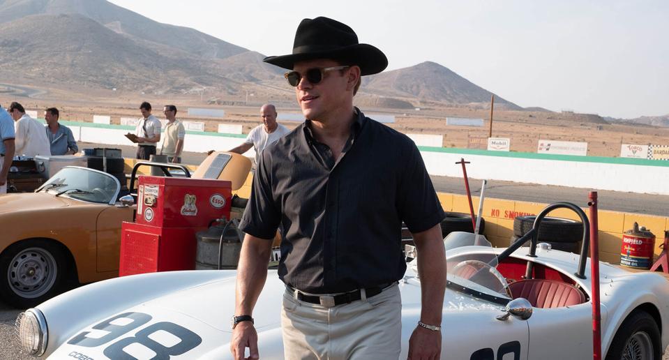 Mga bituin ng Matt Damon sa Fox's ″ Ford v Ferrari ″