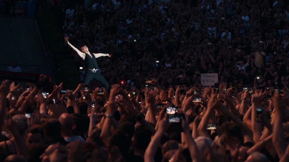 Depeche Mode lead singer Dave Gahan