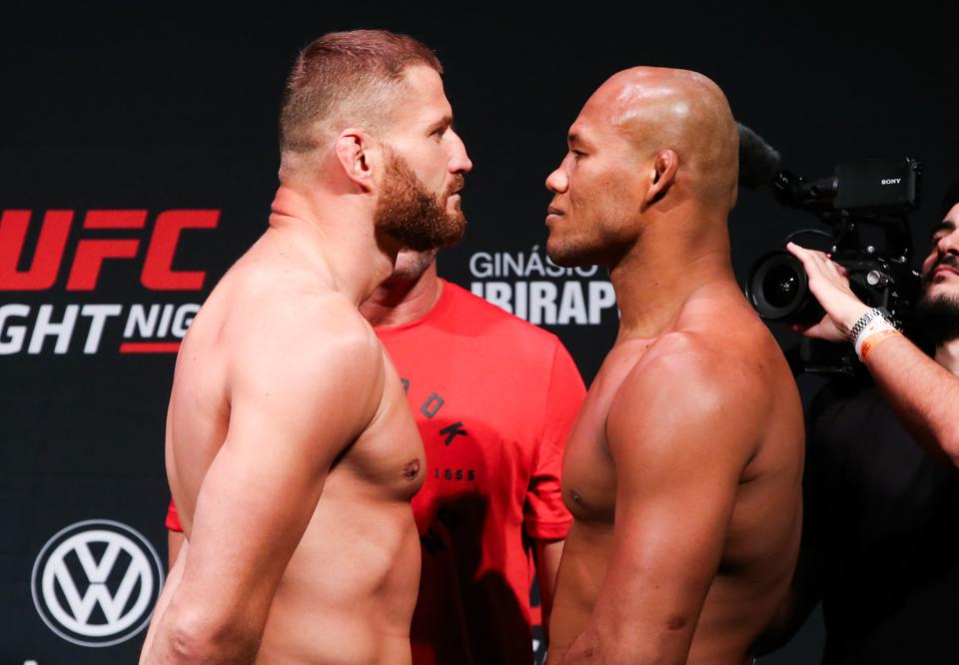 UFC Fight Night Blachowicz x Jacare: Pesagem