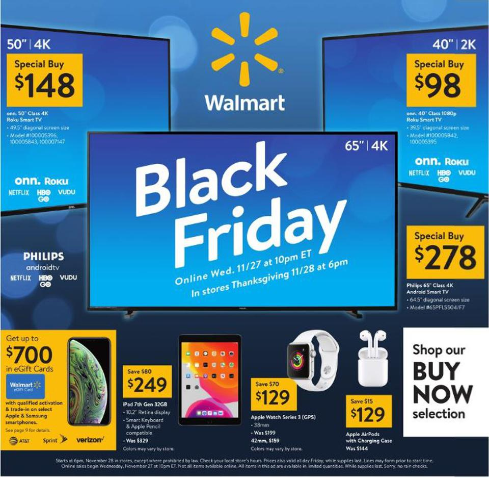 Walmart has some excellent phone deals this Black Friday.