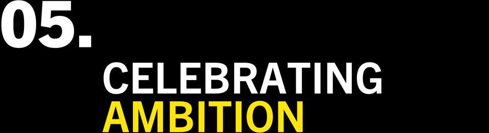 Celebrating Ambition
