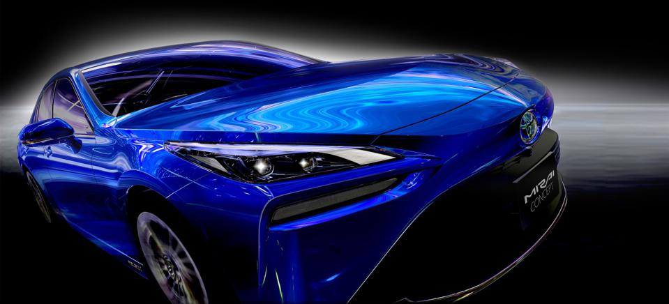 2021 Toyota Mirai fuel-cell vehicle