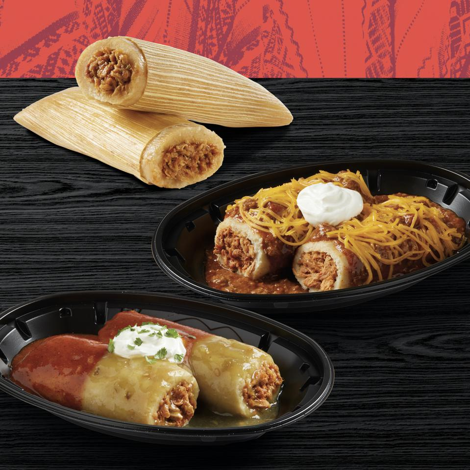 Thanksgiving Tamales, A Southern Tradition, Go National At Del Taco