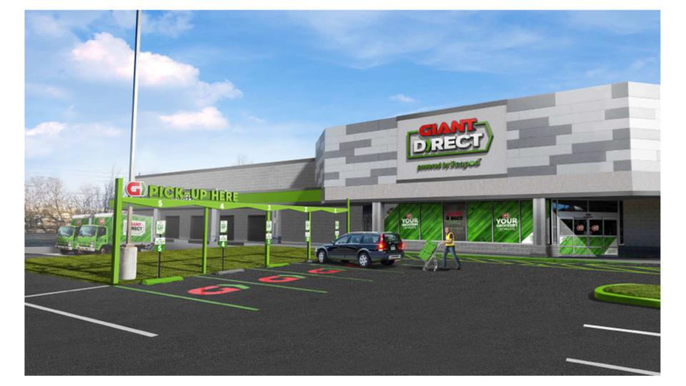 Giant direct powered by peapod grocery delivery drawing