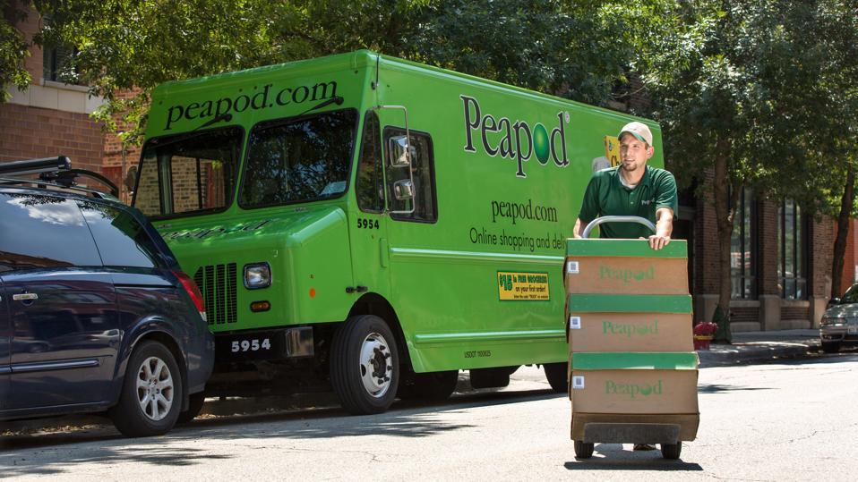 Peapod delivery druck