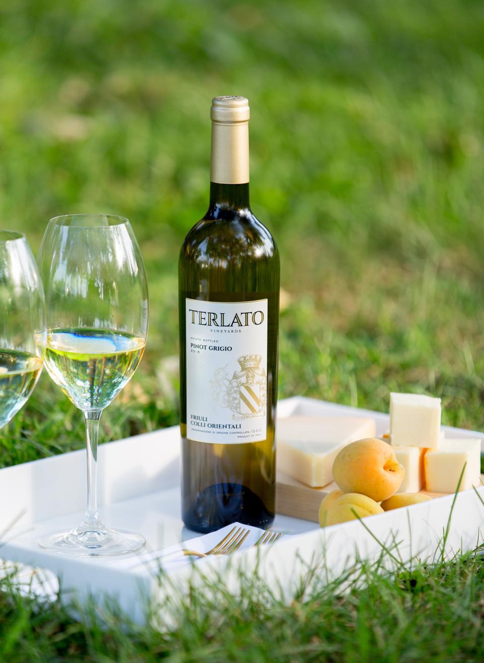 Terlato's Pinot Grigio.