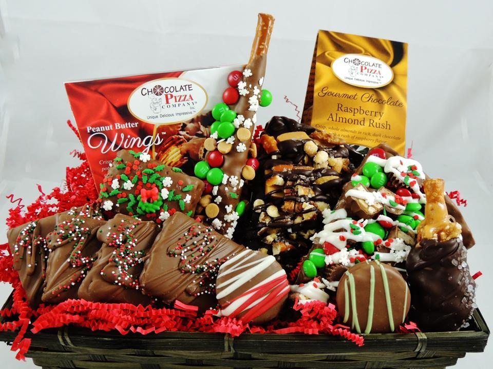 Christmas gift basket