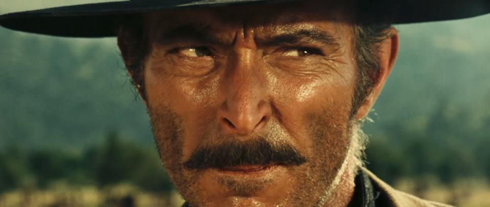 Lee Van Cleef in 'The Good, the bad and the Ugly'