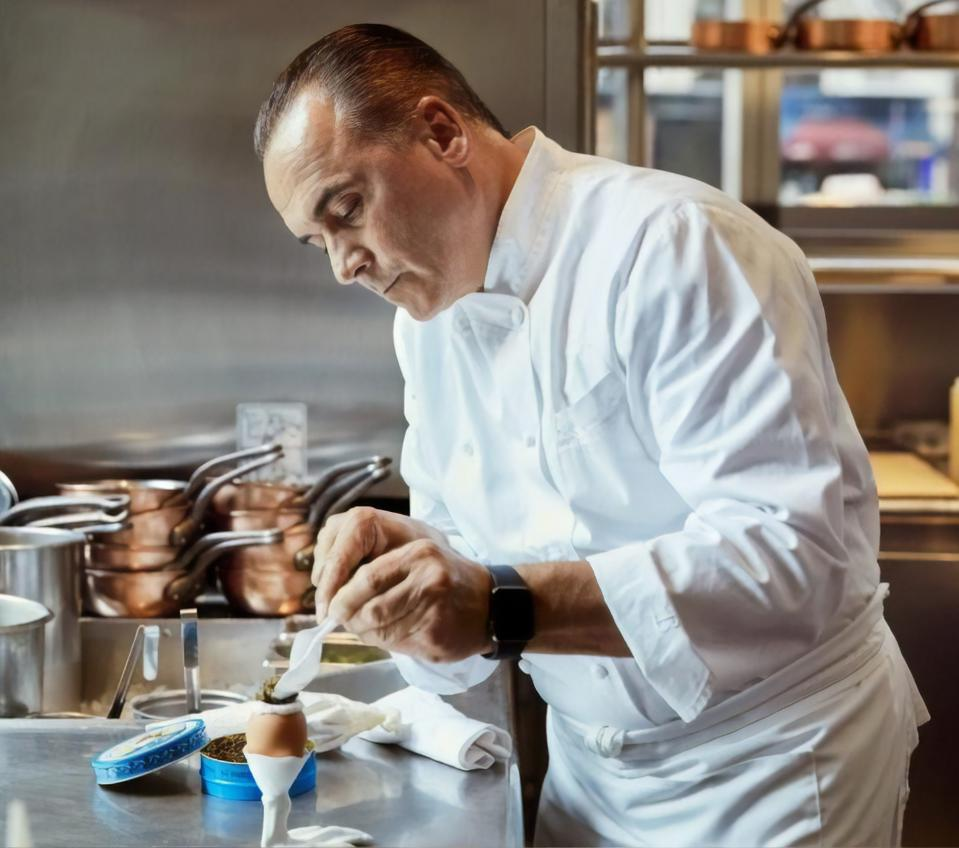 Indulge in a meal by renowned Chef Jean Georges Vongerichten.