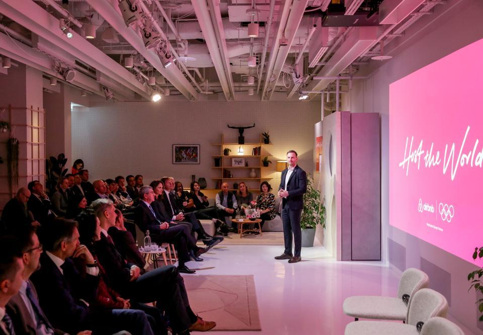 Airbnb announces the IOC sponsorship