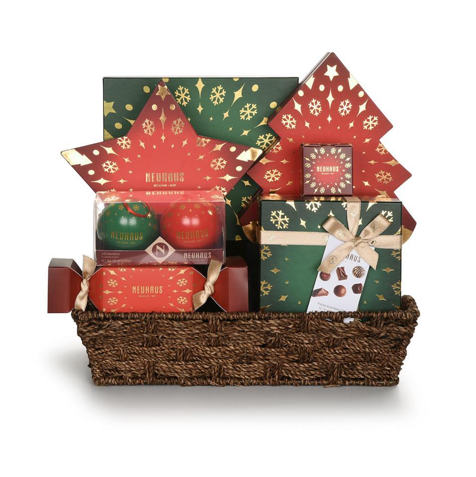 Neuhaus Grand Christmas Celebration Gift Basket