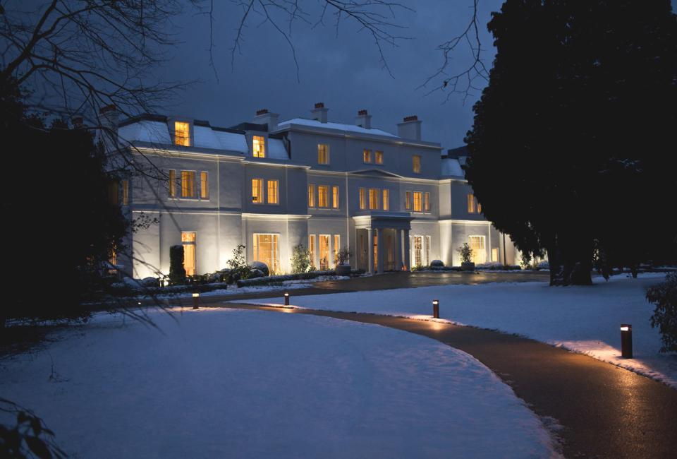 coworth park christmas outside of london