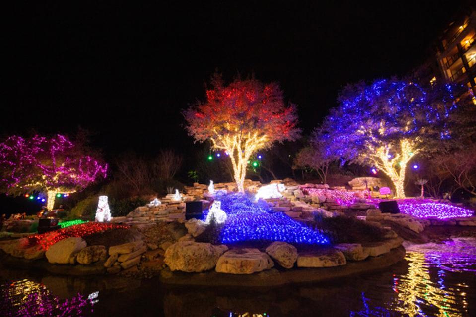 ″Light Up the Night Outdoor Lighting″ at JW Marriott San Antonio.