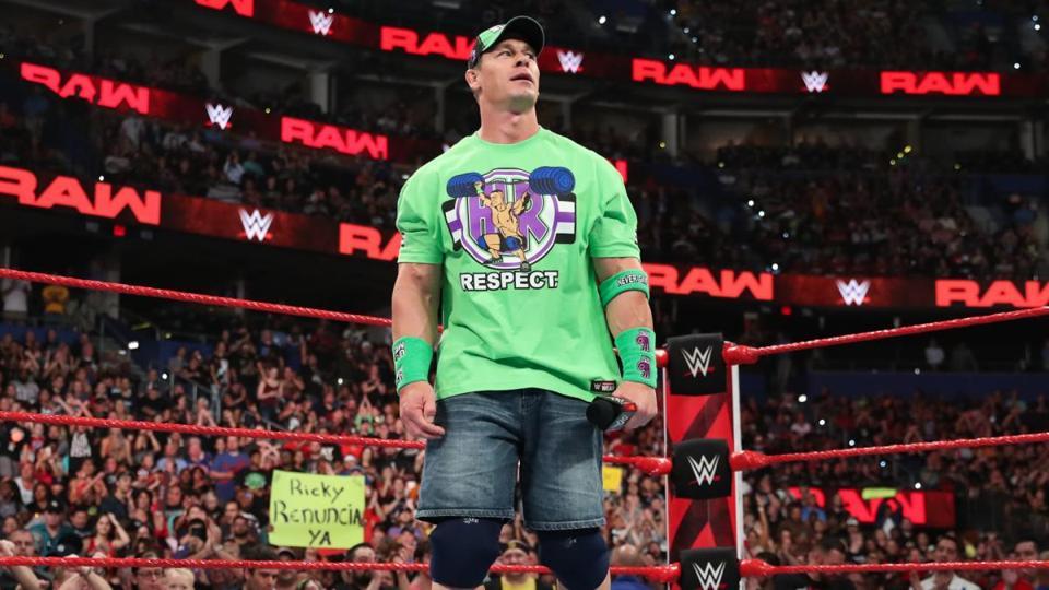 WWE Raw: John Cena
