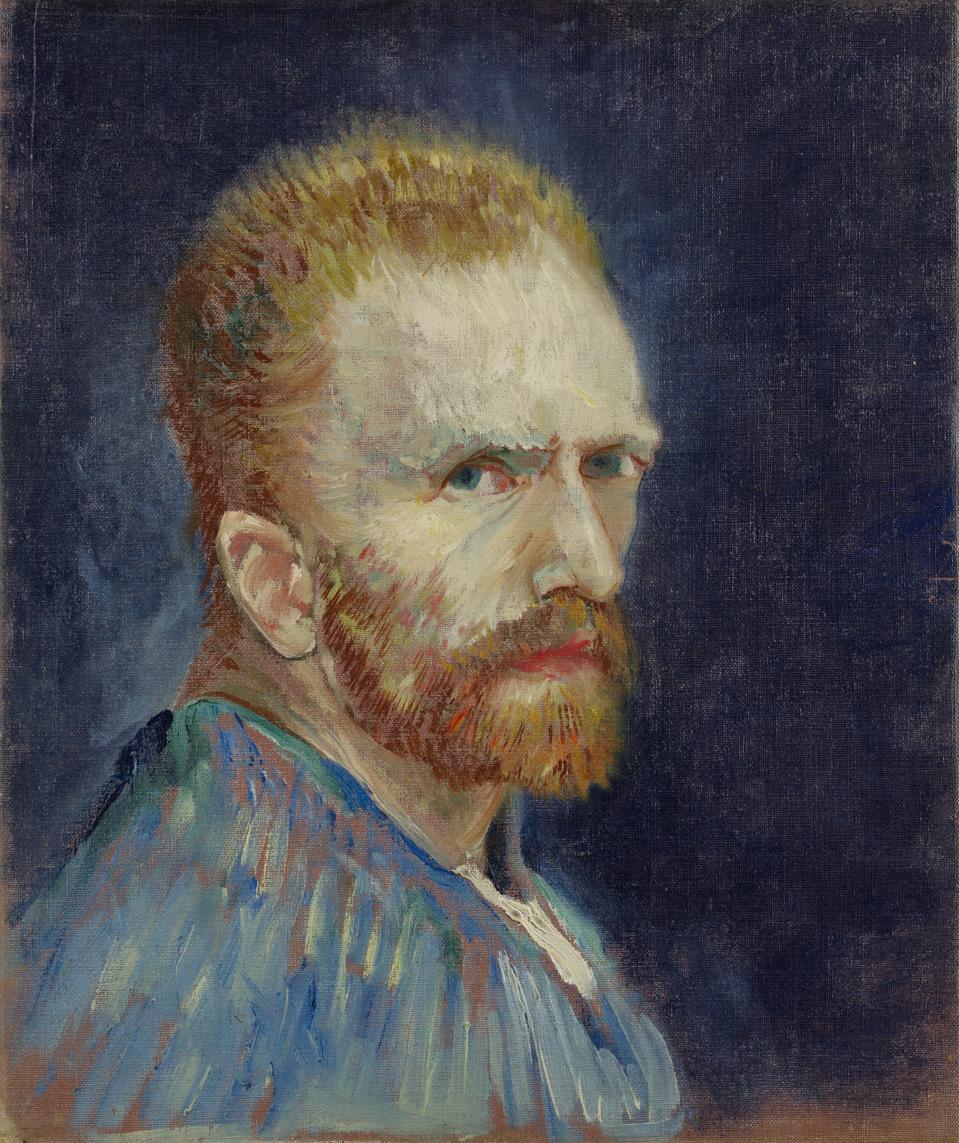 Vincent van Gogh, Dutch, 1853–1890Self-Portrait, 1887Oil on canvas15 15/16 x 13 3/8 in. (40.3 x 34 cm) Wadsworth Atheneum Museum of Art, Hartford, CT.