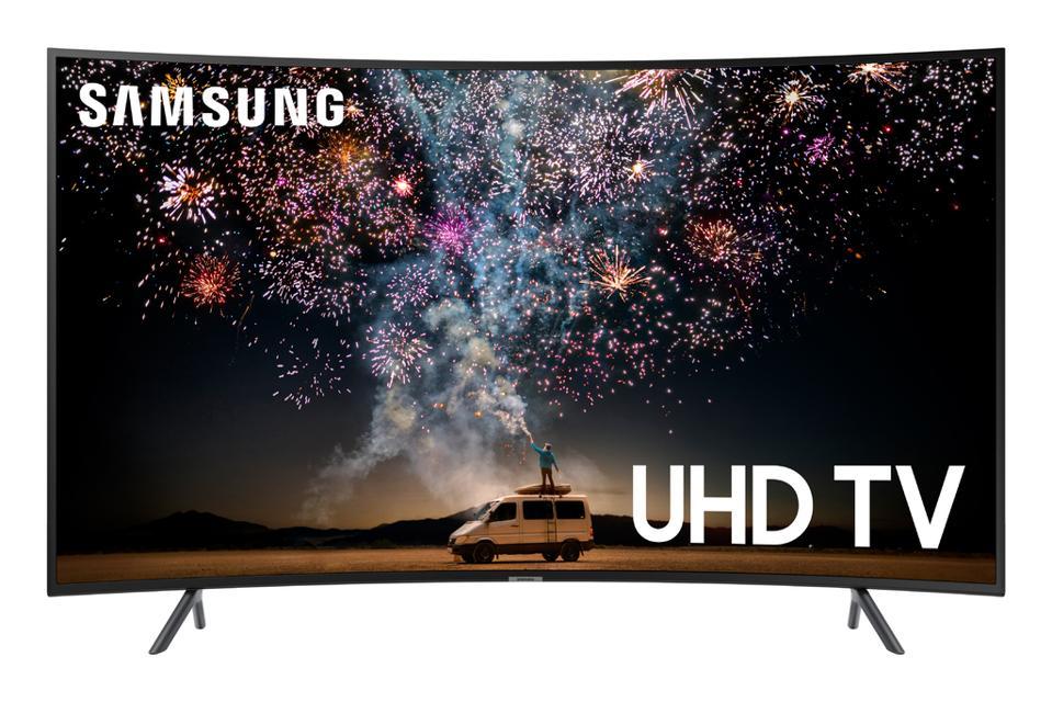 Samsung 65-inch Curved TV Cyber Monday Walmart