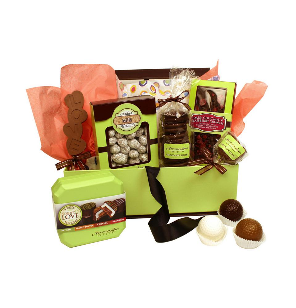 Norman Love chocolate subscription