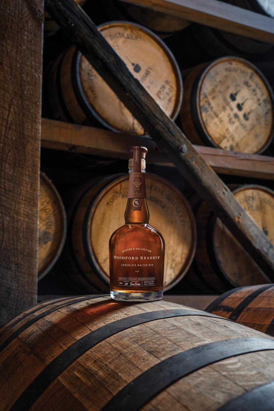 Why Woodford Reserve's Chocolate Malted Rye Is The Perfect Bourbon Lover's Gift