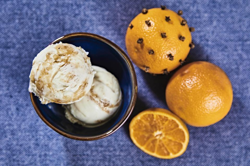 Lick Honest Ice Creams Spiced Orange & Cream Holiday Gift Guide